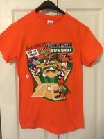 NATTY BOH BASEBALL T-SHIRT 'BALTIMORE'S HUSTLE ON RUSSELL' -UNISEX SZ SMALL ONLY