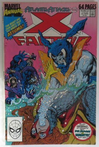 INV20075 VG 1989 X-FACTOR ANNUAL #4