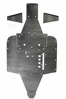 Can Am Commander 2015 front arm guards UHMW SSS Off Road