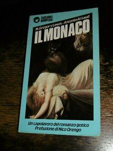IL-MONACO-Matthew-Gregory-Lewis-Antonin-Artaud-Bompiani-1989-ROMANZO-GOTICO