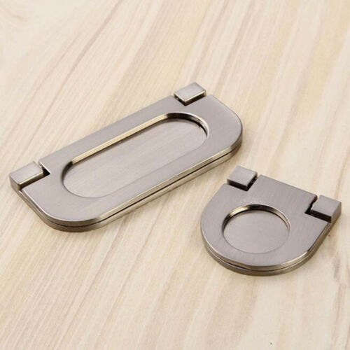 Home Handles Concealed Cabinet Drawer Dresser Door Handle Invisible Pull Knobs S