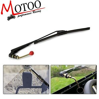 UTV Hand Operated Windshield Wiper Manual Wipers Fits Polaris Ranger RZR 900 1000
