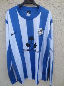 Maillot-NANTES-SUD-98-porte-n-14-NIKE-football-shirt-manches-longues-XL-Dri-Fit