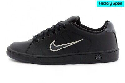 Oponerse a Hacer deporte Birmania  Nike Court Tradition 2 negro Zapatillas Deportivas moda casual para Hombre  | eBay