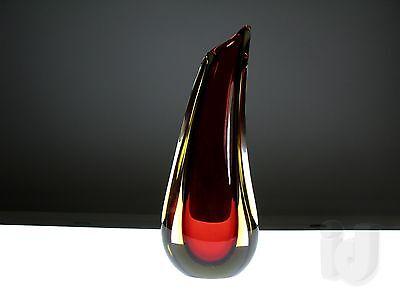GLAS Murano SOMMERSO Vase ~ 1960 ...