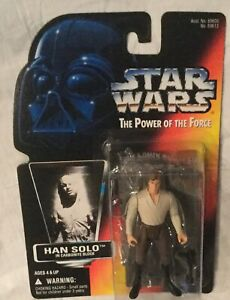 Star Wars Power of the Force HAN SOLO in Carbonite