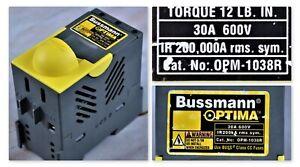 Bussmann Optima Overcurrent Protection Module   30A  600V         OPM-SW