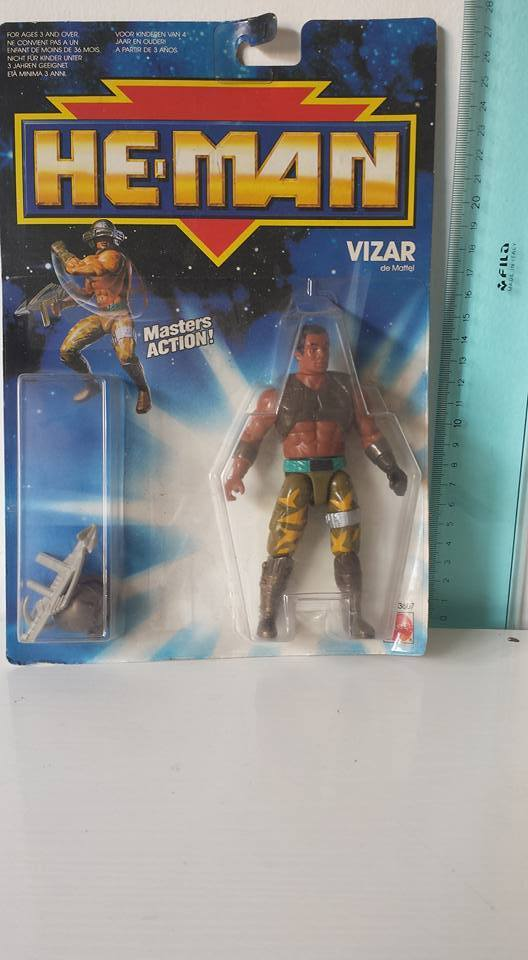 VIZAR He-Man New Adventures MOC  RARE Version OVP Masters Of the Universe