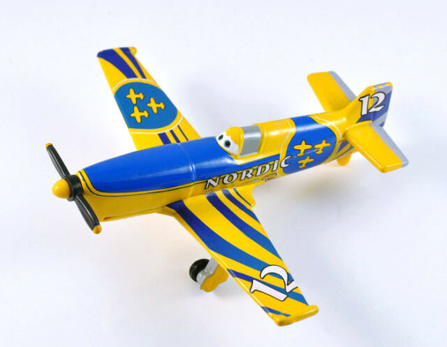 Disney Planes Wings Around Globe Gunnar Viking Diecast 1:55 Child FJ09