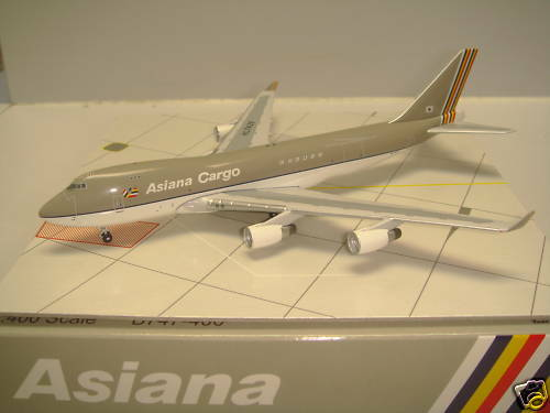 Bigbird 400 Asiana Airlines OZ B747-400F  1990s color - Cargo  1 400