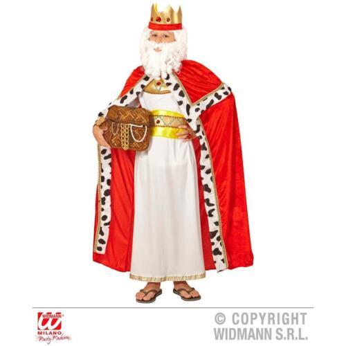 Umhang König oder Königin für Kinder Zubehör Fasching Halloween Kinderkostüm
