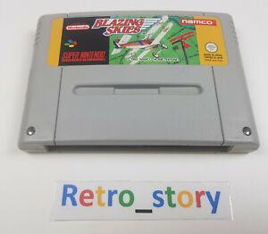 Super Nintendo SNES - Blazing Skies - PAL - FAH