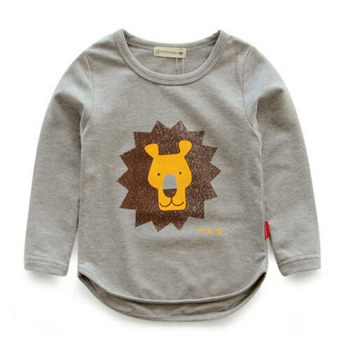 See More @ Kuukid Leo The Lion Graphic Sweater Tee 3T