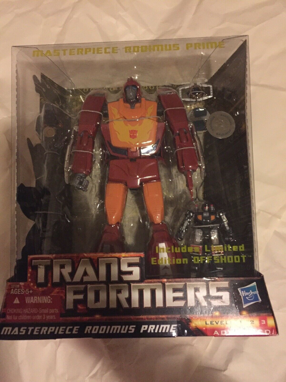 New New New Transformers Masterpiece Rodimus Prime w  Offshoot US Seller TRU Toys R Us 3fc41d