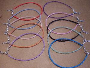 Adjustable-seed-bead-anklet-hippy-boho-gypsy-funky-beach-colours-26cms