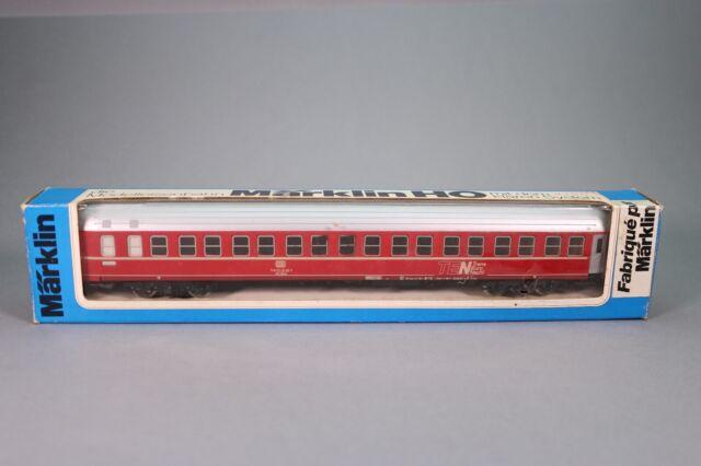 ZJ095 MARKLIN Voiture Ho 4150 Voiture lits TEN DB 71 80 75-70 415-2