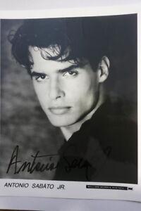 Antonio-Sabato-jr-Autogrammkarte-Autograph
