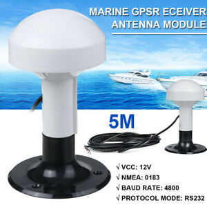 Marine Ship GPS Receiver Antenna Module NMEA 0183 Baud Rate 4800 DIY  e