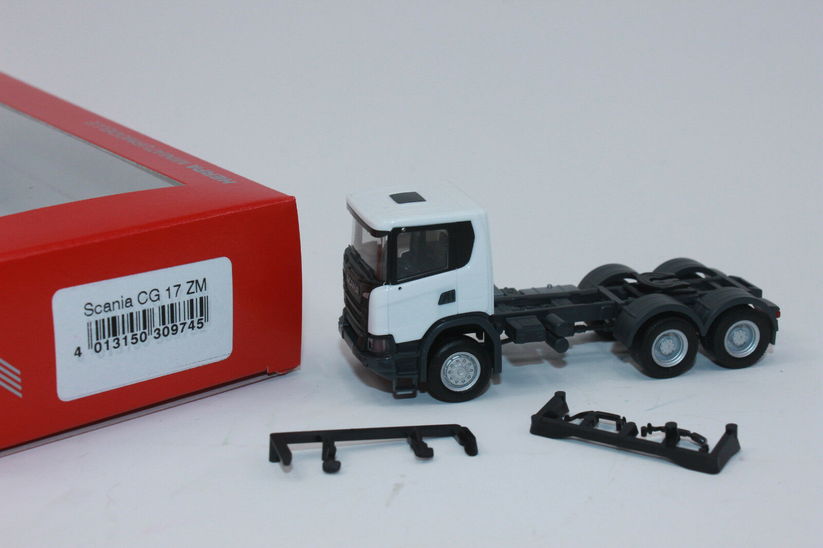Herpa 085168-1//87 piezas Service chasis camiones scania CR//CS para 7,45m hollins