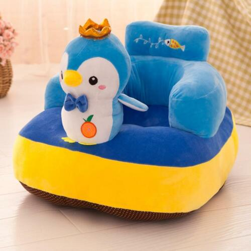 Cute Baby Sofa Support Seat Chair Cover No Cotton Comfortable Toddler Supply