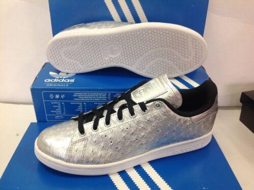 Eu uomo Uk Originals Aq4706 Smith 8 taglia 42 Adidas Stan argento Scarpe ginnastica da T1vqnwx47