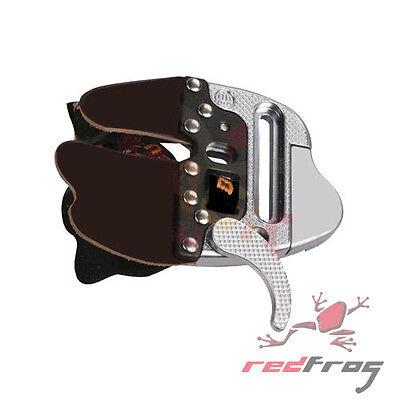 Nouveau Decut Tir à L/'Arc Promix doigt manche recourbé Bow PU Cuir Plaque en métal ajuster RH