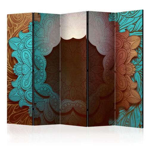 Deko Paravent Raumteiler Trennwand Mandala designer orientalisch 6 Motive!