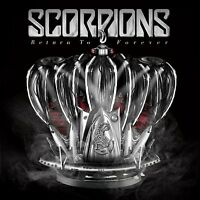 THE SCORPIONS - RETURN TO FOREVER: LIMITED DELUXE EDITION CD ALBUM (2015)
