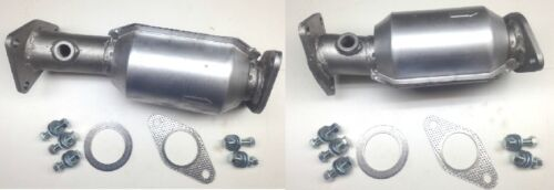 Aftermarket Xterra 4.0L Pair of Front Catalytic Converters 2005-2010 OBDII