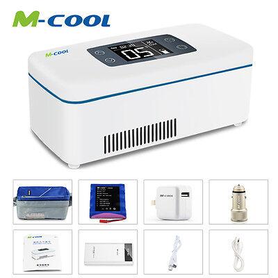 M-cool Mini Insulin Cooler Car refrigerator 2-8°C Refrigerate Box Drug Reefer