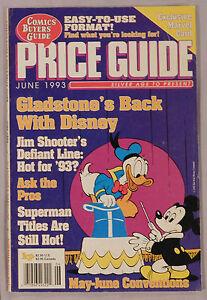 June 1993 Comic Buyer's Guide Gladstone Disney Line Superman