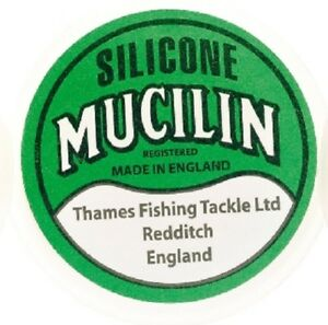Mucilin Line Silicone for plastic fly lines