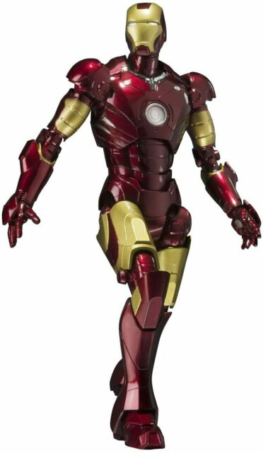 S.H. Figuarts Iron Man Mark 3 to about 155mm ABS & PVC & die-cast action fi
