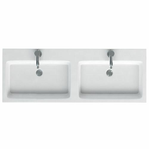 MyPlan 1200 Polymarble Double Sink White £299