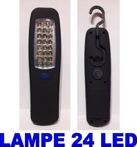 Lampe 24 LEDs Inspection Baladeuse Atelier Torche pour garage