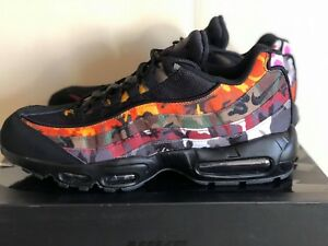 ab1926231c7 Nike Air Max 95 ERDL Party Black Camo Multi AR4473-001 Mens Airmax ...