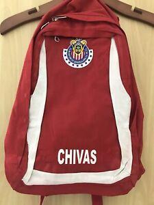 001 Chivas Deportivo Guadalajara Team Logo Backpack