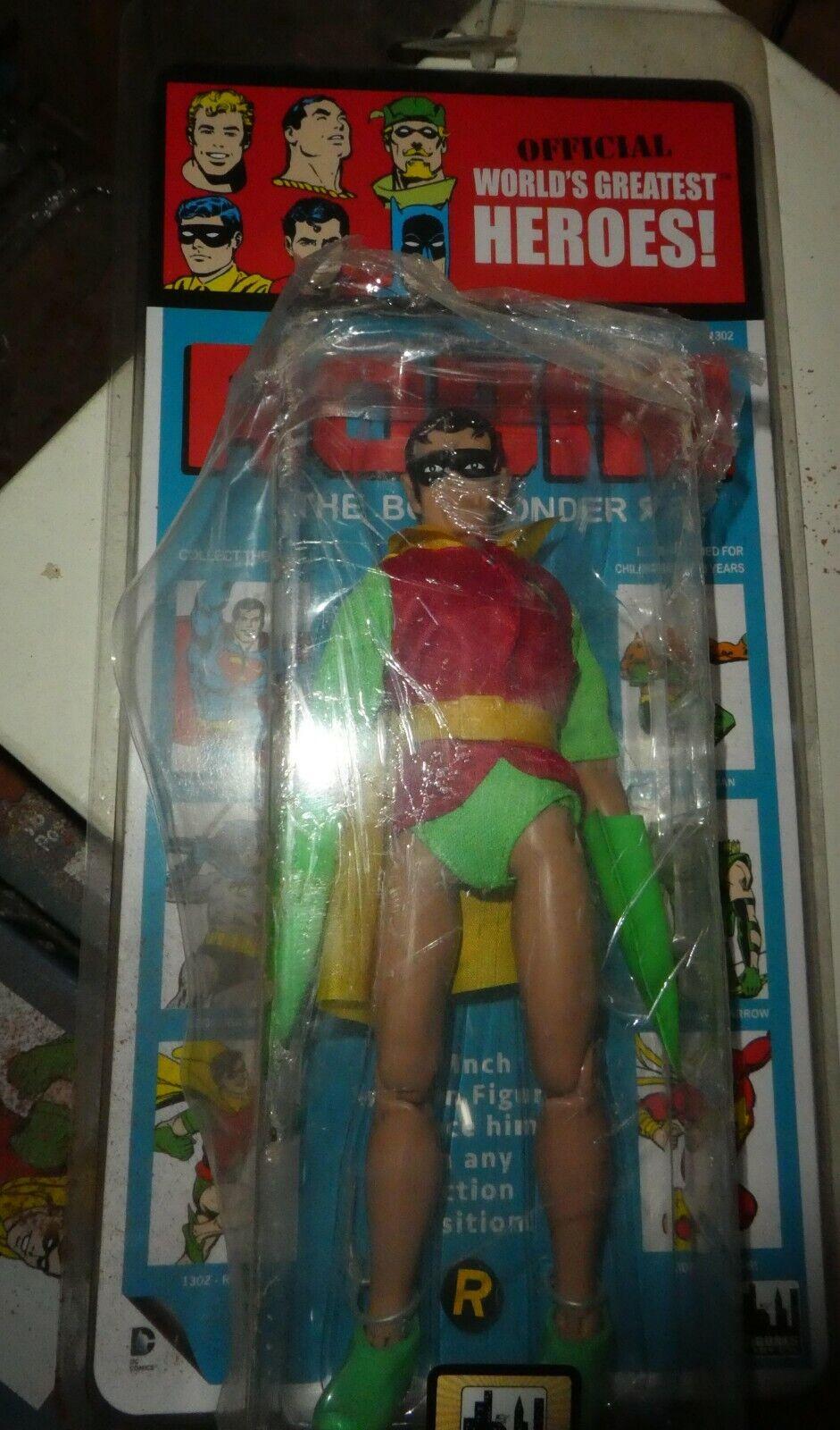 Dc Figura Robin kresge MONDI più grande 8  SIGILLATO BATMAN LIMITED 100