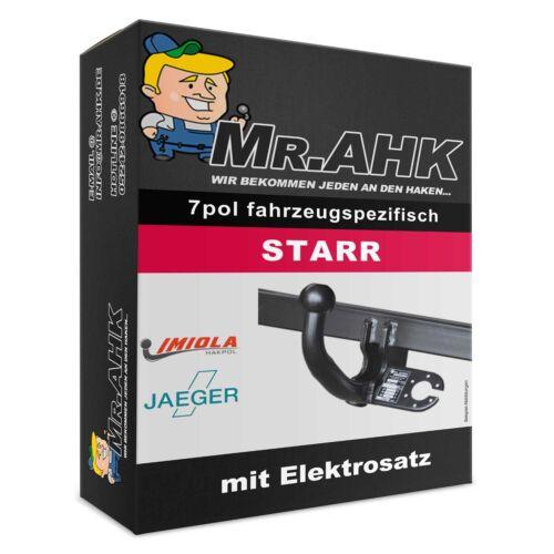 Opel Mokka E-Satz Mokka X ab 12 AHK Anhängerkupplung starr 7pol spe