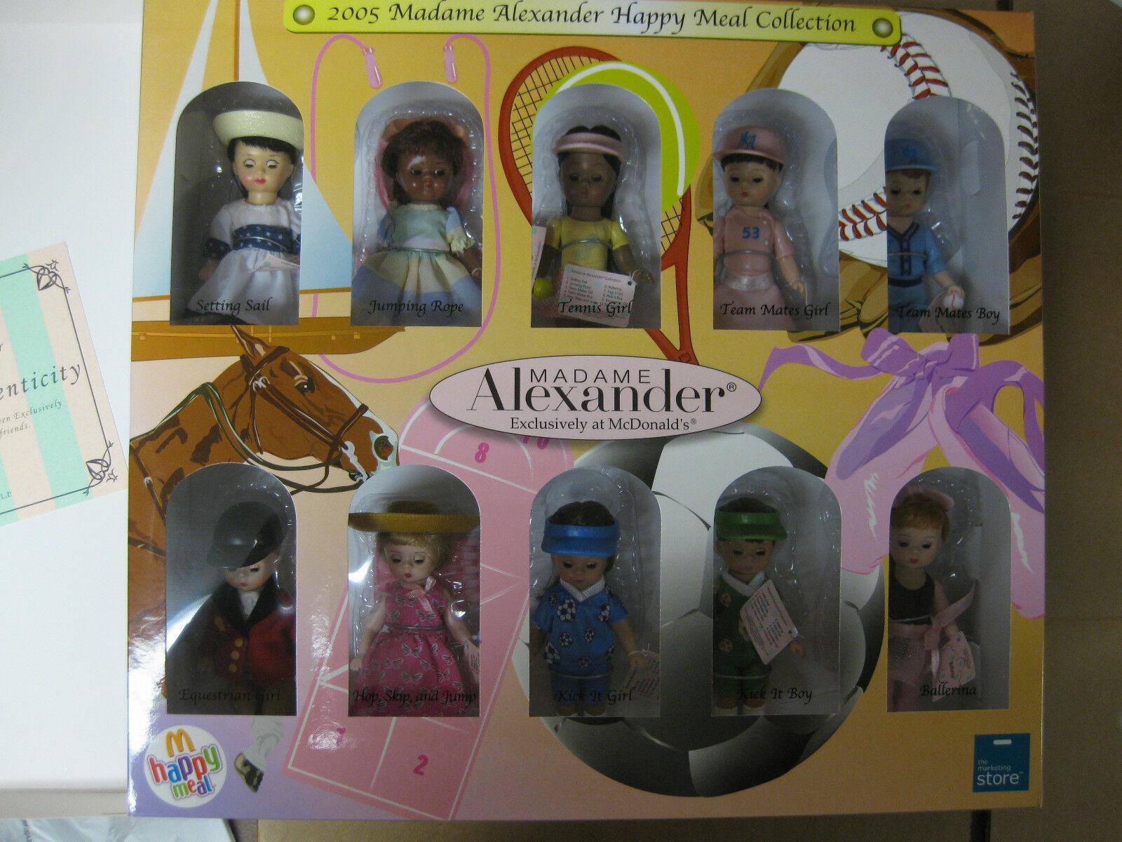 (BXF) 2005 Madame Alexander McDonald's 2005 Happy Meal doll Sammlung
