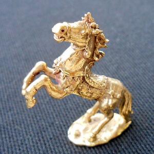 Thai Amulet Paladkik Miniature Lucky HORSE Magic Talismans Wealth Charm Zodiac