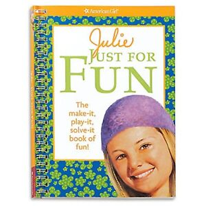 Julie-Just-For-Fun-American-Girl-Games-Crafts-Puzzles-Activities-Sudoku-New