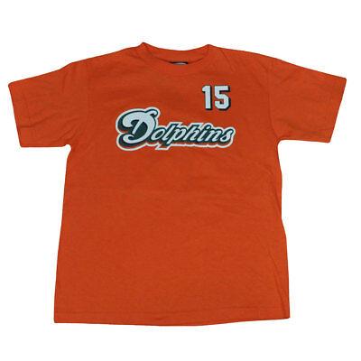 Weitere Ballsportarten Angemessen Nfl Miami Dolphins Reebok Davone Bess #15 Spieler T-shirt Jugendliche Dk1426 Hochwertige Materialien Sport