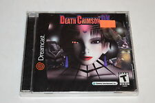 Death Crimson OX Sega Dreamcast Video Game New Sealed