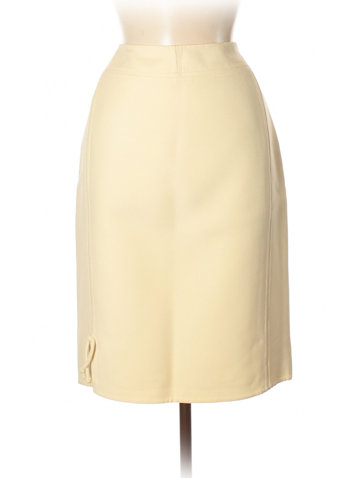 Chado Ralph Rucci Cream Pencil Skirt, Size 8, NWT   1,800