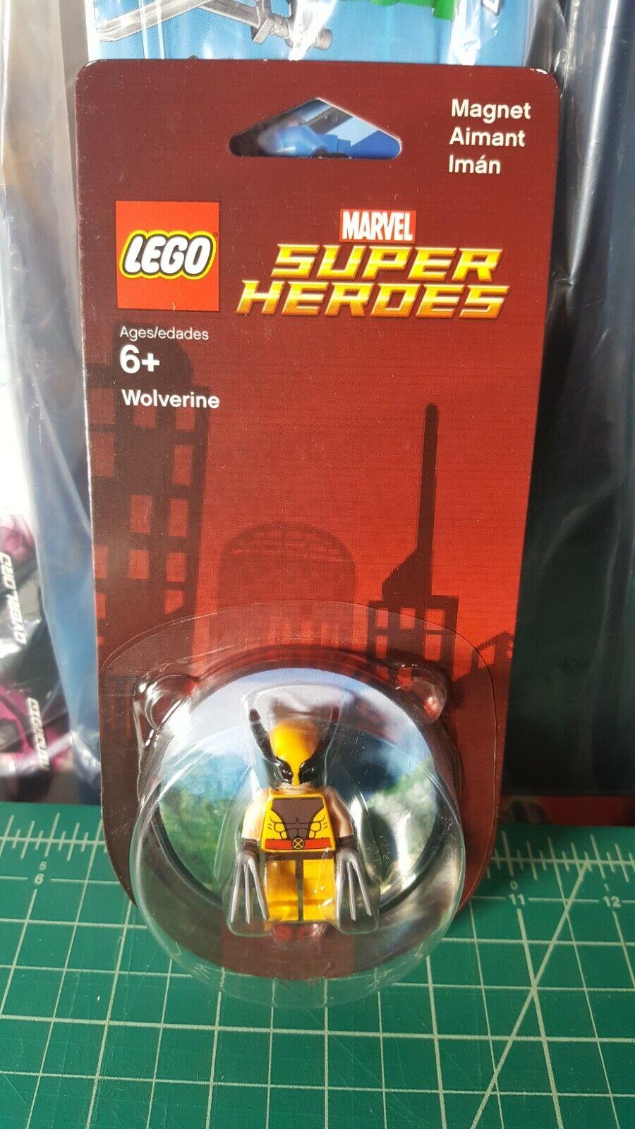 Wolverine X-Men LEGO Magnet 851007