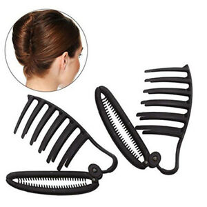2pcs-Grand-Pince-a-Cheveux-Femme-Fille-en-Plastique-Accessoire-de-Cheveux