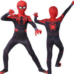 Superior Spider-Man Cosplay Costume Spiderman Zentai Suit For ...