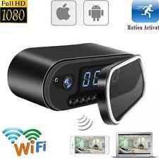 Mini WIFI 1080P Night Vision HD Spy Hidden Camera Clock P2P Motion Detection TR