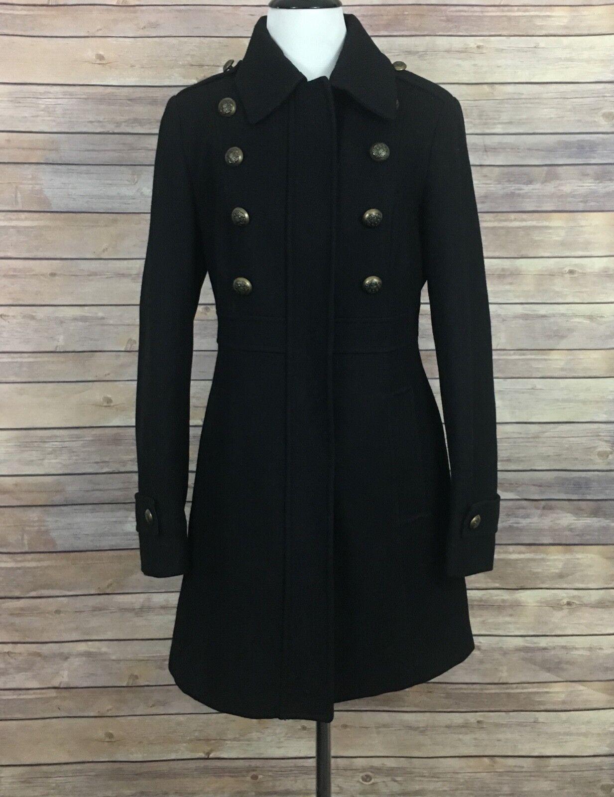 Esprit Military Wool Blend Coat (Size  S)
